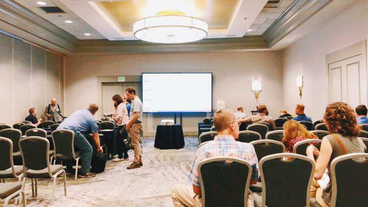 In Aug 2018, EMCUS attended the US National Atmospheric Monitoring Conference